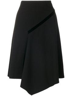 асимметричная А-образная юбка  Dorothee Schumacher