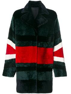 пальто с контрастным дизайном Drome