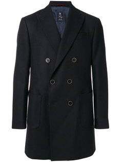 double breasted coat Fay