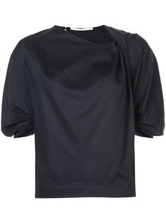 draped twist blouse  Rosetta Getty