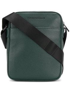 сумка через плечо с тиснением логотипа Emporio Armani