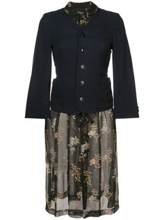 floral print dress Comme Des Garçons Tricot