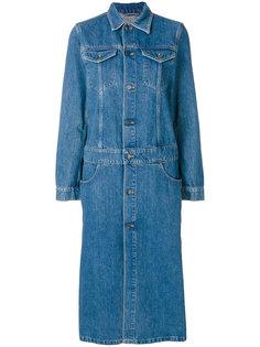 длинное платье на пуговицах Ck Jeans