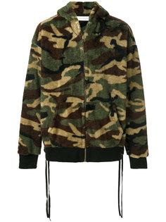 куртка с капюшоном  и камуфляжным принтом Faith Connexion