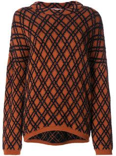 свитер с вышивкой Kvasa Christian Wijnants