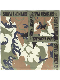 камуфляжный шарф Givenchy