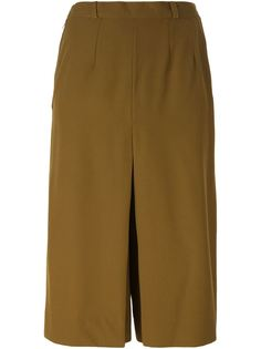 широкие брюки-кюлоты Jean Louis Scherrer Vintage