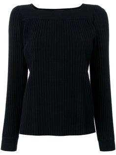пуловер в рубчик A.P.C.