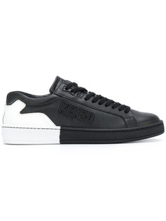 кроссовки на шнуровке Kenzo