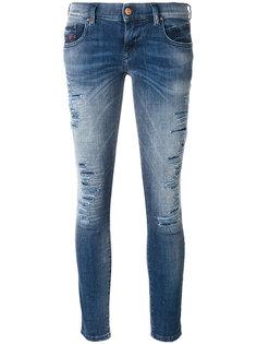 укороченные джинсы скинни Grupee Diesel