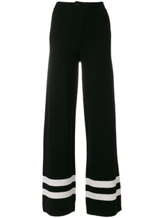 flared striped trousers Chinti And Parker