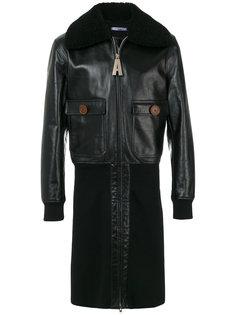 пальто в байкерском стиле Givenchy