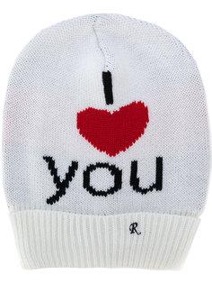 шапка I Heart You Raf Simons
