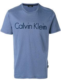 футболка с логотипом Calvin Klein