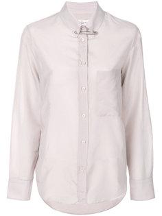 рубашка с булавкой  Golden Goose Deluxe Brand