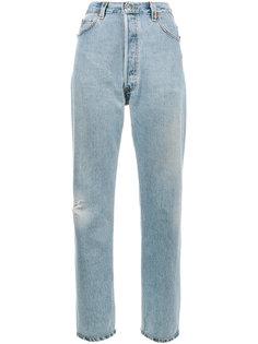 джинсы с завышенной талией Ultra Re/Done