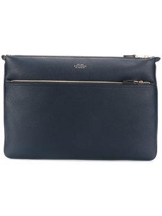 zipped laptop bag  Smythson