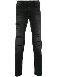 джинсы с потертой отделкой Ck Jeans