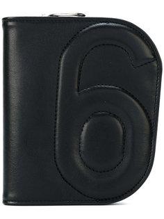 кошелек на молнии Mm6 Maison Margiela