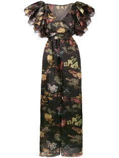 платье макси с цветочным принтом  Rosie Assoulin