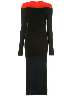 платье макси с панельным дизайном Diane Von Furstenberg
