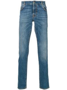 джинсы кроя слим Borrelli