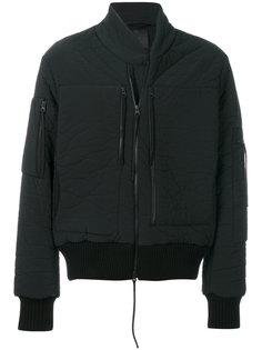 куртка бомбер с эффектом помятости Thom Krom