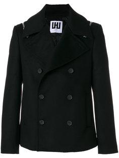 двубортный пиджак Les Hommes Urban