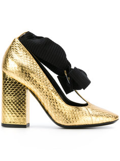 туфли с завязками на бант Philosophy Di Lorenzo Serafini