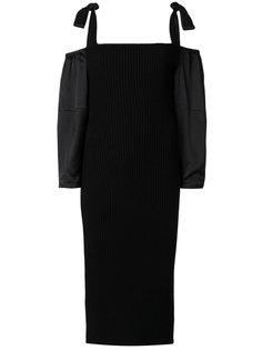 платье с завязкой  Alberta Ferretti