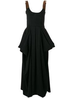 платье с драпировкой  J.W.Anderson