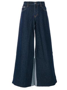 широкие джинсы  Calvin Klein