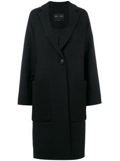 пальто с контрастными карманами  Proenza Schouler