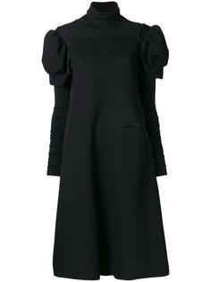 платье с объемными плечами  Nostra Santissima