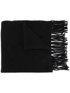 трикотажный шарф с бахромой Dolce & Gabbana