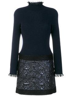 приталенное платье с вышивкой  D.Exterior