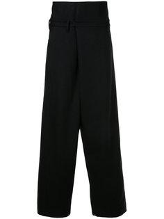 классические брюки с завышенной талией Julius