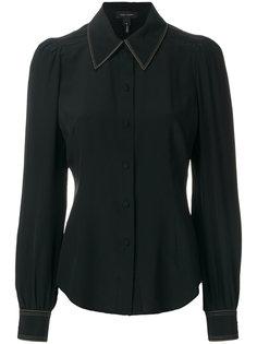 рубашка с плиссировкой  Marc Jacobs