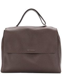 текстурированная сумка-тоут Orciani