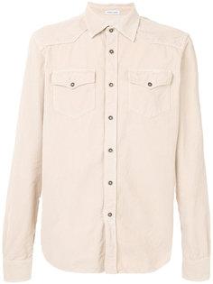 вельветовая рубашка Tomas Maier