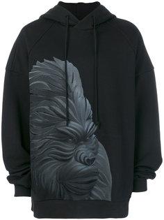 ape print hoodie Juun.J
