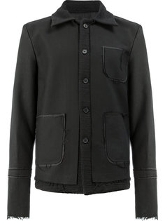frayed jacket Yang Li