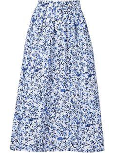 юбка с цветочным принтом Saloni