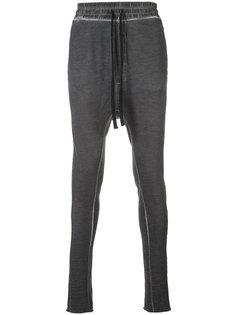 drop-crotch track pants Thom Krom