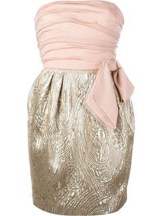 платье без бретелей с бантом Emilio Pucci Vintage