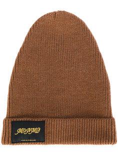 вязаная шапка с заплаткой с логотипом Stella McCartney