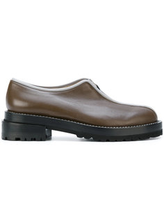front zip loafers Marni