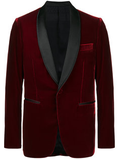 бархатный пиджак Berluti