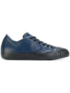 двухцветные кроссовки Philippe Model