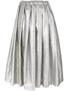 плиссированная юбка миди Comme Des Garçons